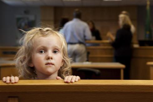 child-in-court